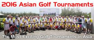 Tournois de Golf amateur en Asie.